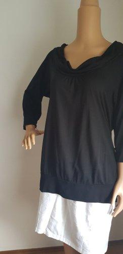 Heine Koszulka z dekoltem woda czarny