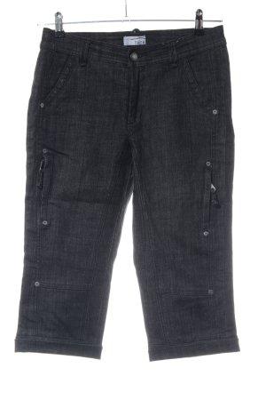 Heine Jeans a 3/4 nero puntinato stile casual