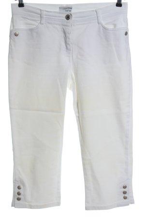 Heine Jeansy 3/4 biały W stylu casual