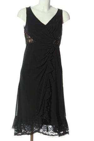 Heine Abendkleid schwarz Elegant