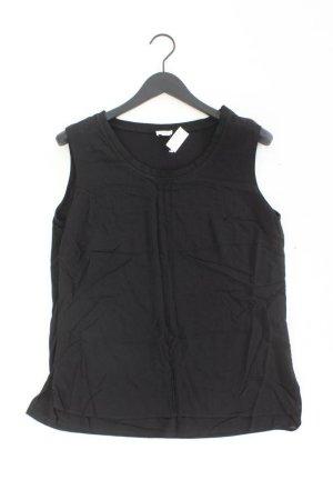 Heine Ärmellose Bluse Größe 44 schwarz aus Viskose