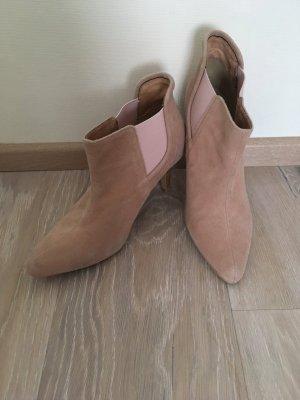 Andrea Conti Slip-on Booties multicolored leather