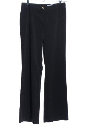 Heine Pantalon de costume noir style d'affaires