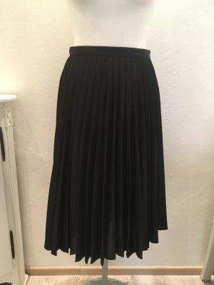 Ashley Brooke Plaid Skirt black mixture fibre