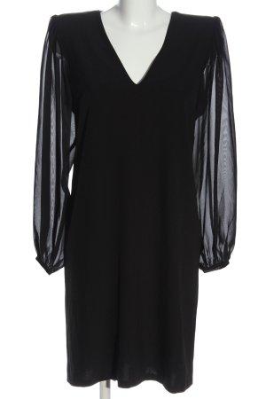 Heine Sukienka z rękawem balonowym czarny W stylu casual