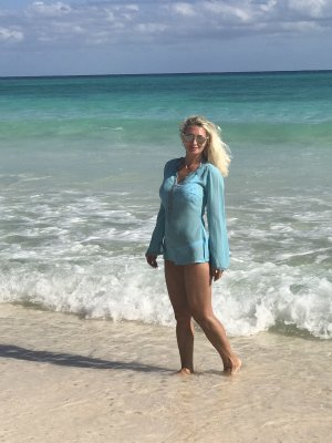 Heine Tenue de plage turquoise