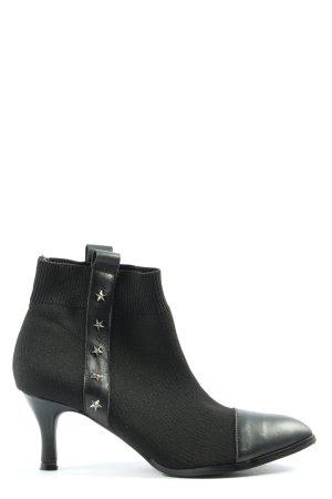 Heine Booties schwarz extravaganter Stil
