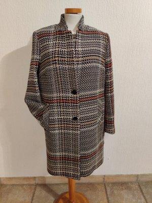 Heine Casual Mantel mit modischen Karo-Design