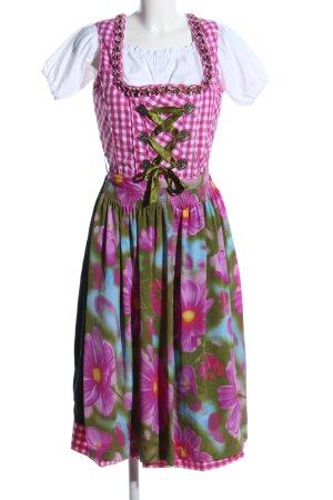 Heine Vestido Dirndl estampado floral estilo clásico