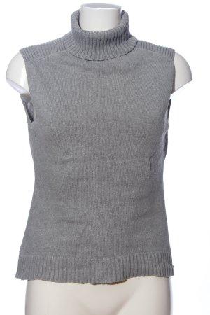 Heine Fine Knitted Cardigan light grey casual look