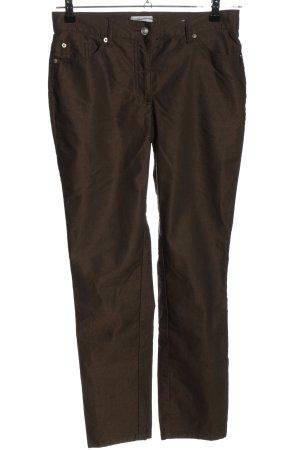 Heine Five-Pocket-Hose braun Casual-Look