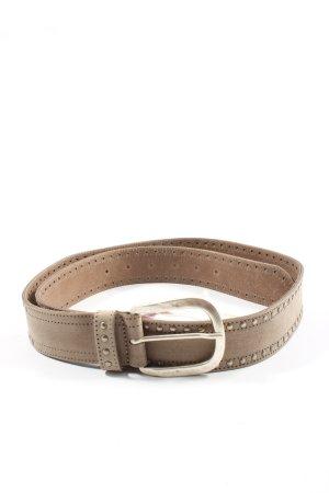 Heine Hebilla del cinturón marrón-color oro estilo «business»