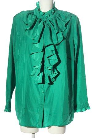 Heine Camicia blusa verde elegante