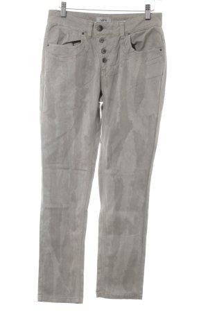 Heine High Waist Jeans hellgrau-grau Casual-Look