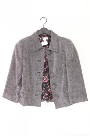 Heine Jacke Größe 36 grau aus Polyester