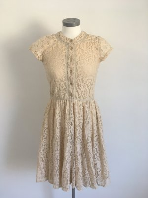 Heine Lace Dress beige