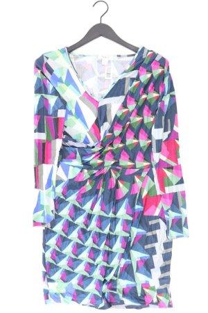 Heine Kleid mehrfarbig geometrisches Muster Größe 40