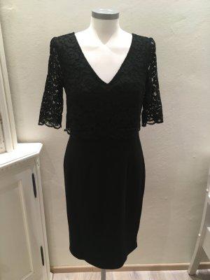 Heine Lace Dress black mixture fibre