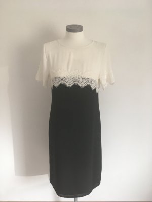 Heine Lace Dress white-black