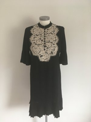 Heine Lace Dress black-white