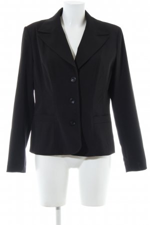 Heine Kurz-Blazer schwarz Business-Look
