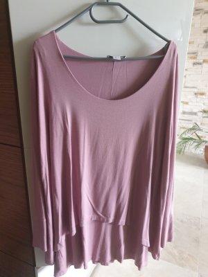 Heine Camicia a tunica color oro rosa Viscosa