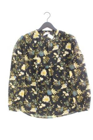 Heine Langarmbluse Größe 44 mit Blumenmuster mehrfarbig aus Polyester