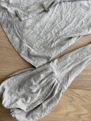 Heine langarmshirt grau meliert Gr. 34