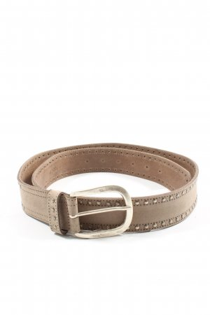 Heine Leather Belt cream casual look