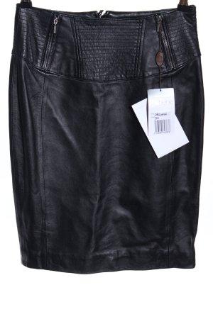 Heine Leather Skirt black casual look