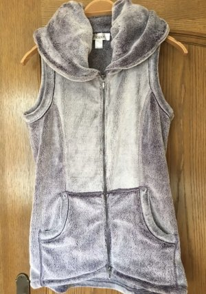 Linea Tesini Fake Fur Vest purple