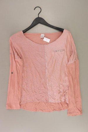 Heine Longsleeve-Shirt Größe 36 Langarm mit Glitzer orange