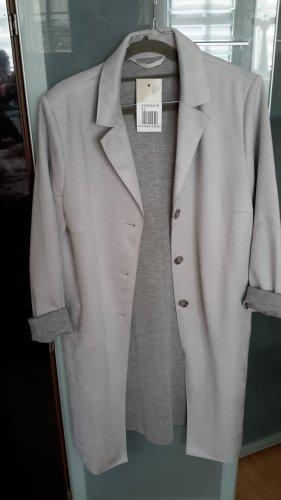 Timeless Abrigo ancho gris claro