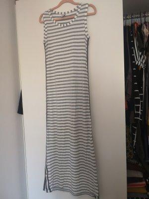 Heine Maxi abito bianco-grigio chiaro