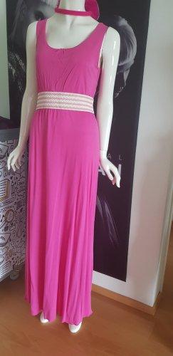 heine maxikleid nie getragen neu think pink trendfarbe small