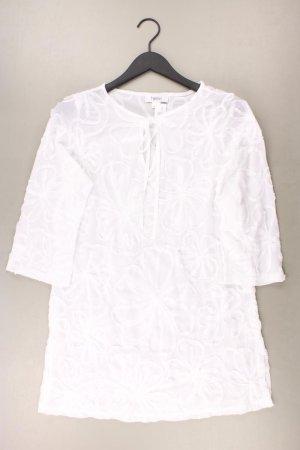 Heine Midikleid Größe 36 3/4 Ärmel weiß aus Polyester