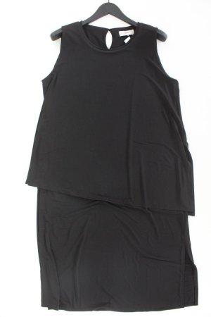 Heine Midikleid Größe 46 Ärmellos schwarz aus Polyester