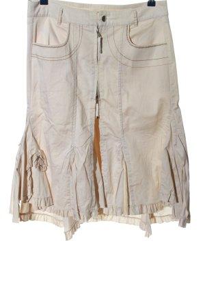 Heine Spódnica midi w kolorze białej wełny W stylu casual