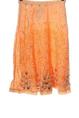 Heine Spódnica midi jasny pomarańczowy-w kolorze białej wełny W stylu casual