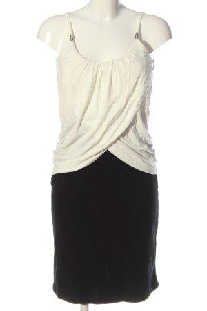Heine Minikleid schwarz-weiß Casual-Look