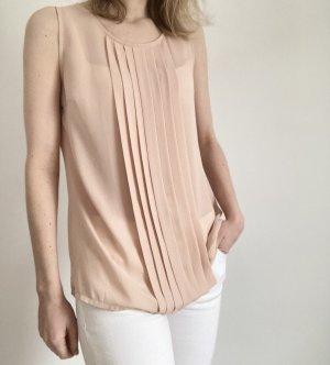 Heine Patrizia Dini Shirt Bluse Top rosa rose nude 36 S