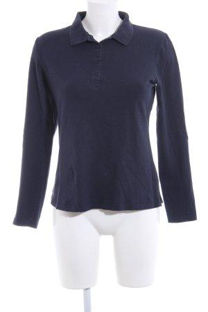 Heine Polo-Shirt blau Casual-Look