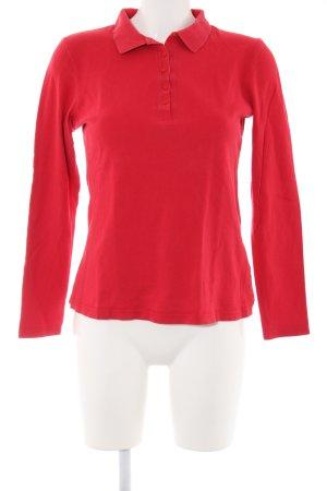 Heine Polo-Shirt rot Casual-Look