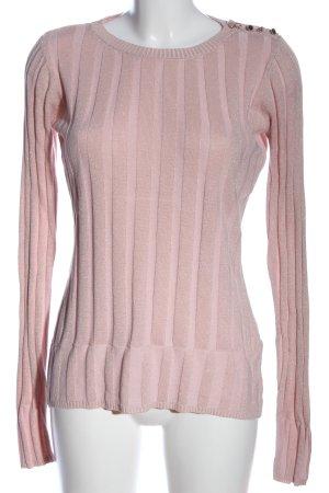 Heine Rundhalspullover pink Casual-Look