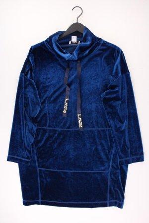 Heine Samtkleid blau Größe 44