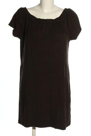 Heine T-shirt jurk bruin casual uitstraling