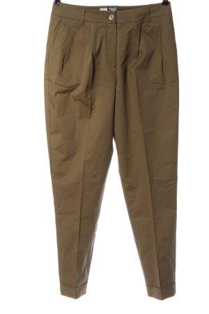 Heine Pantalone jersey marrone stile casual