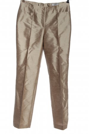 Heine Pantalone jersey marrone elegante