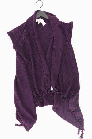 Heine Cardigan in maglia lilla-malva-viola-viola scuro