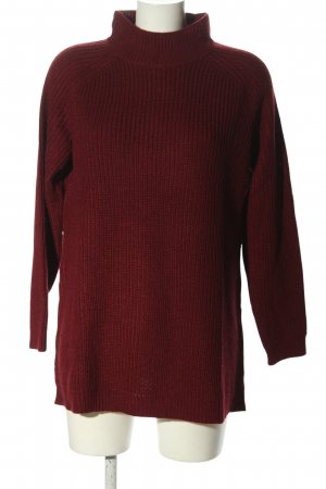 Heine Strickpullover rot Casual-Look